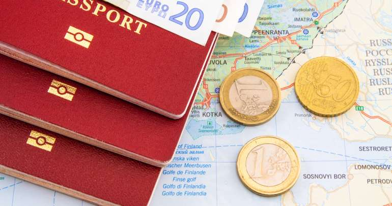 Most expensive passports in terms of passport fee