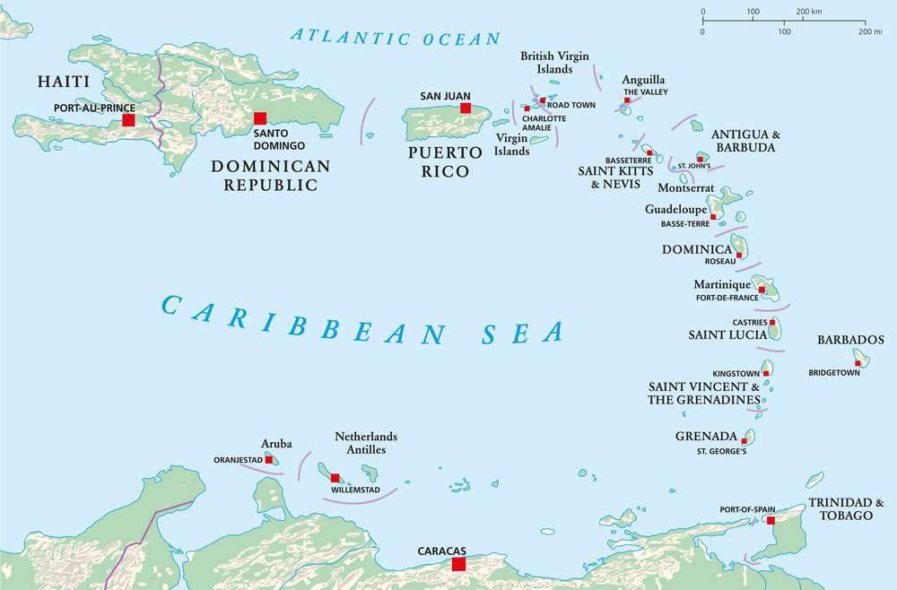 Top 10 Richest Caribbean countries