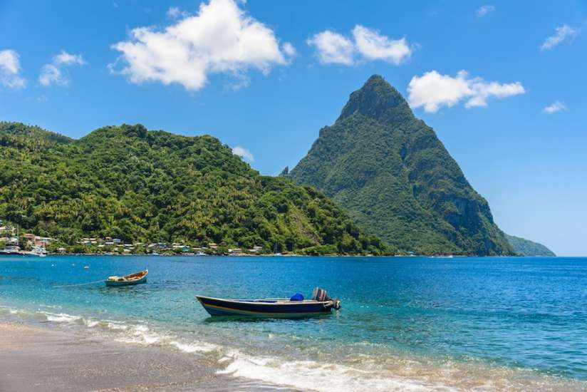 Why St Lucia CIP is popular with americans?