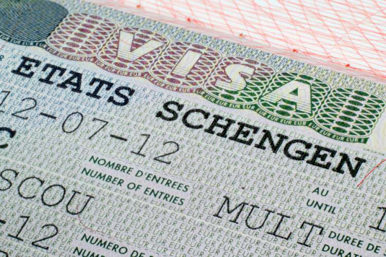 Top 10 Schengen states with highest visa refusals