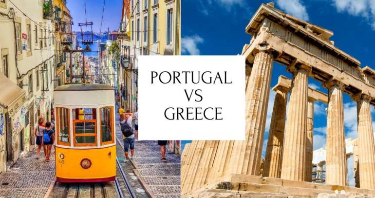 A Good comparison of Portugal vs Greece citizenship requirements